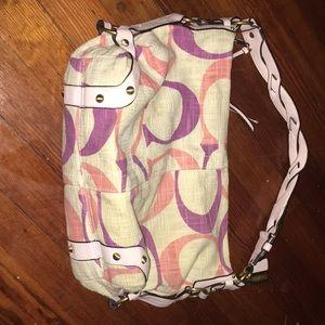 Lightly used coach purse